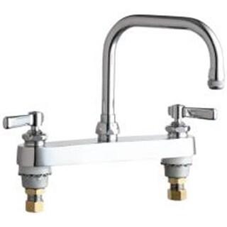 Chicago Faucet Company 284107 Dck Mnt Wrk Brd Fct Chrm Lf