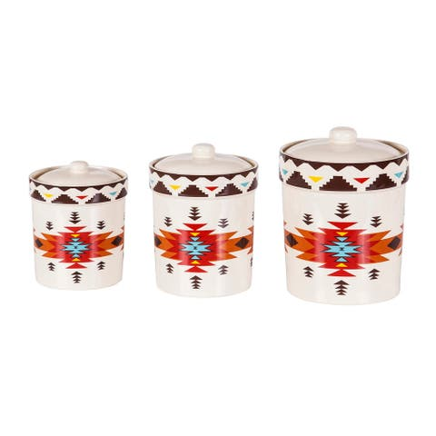 HiEnd Accents 3 PC Del Sol Canister Set - N/A