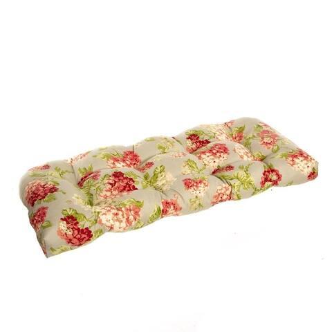 Summer Garden Wicker Loveseat Cushion