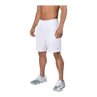 "Fila Men's Fundamental 7"" Hard Court Short White"