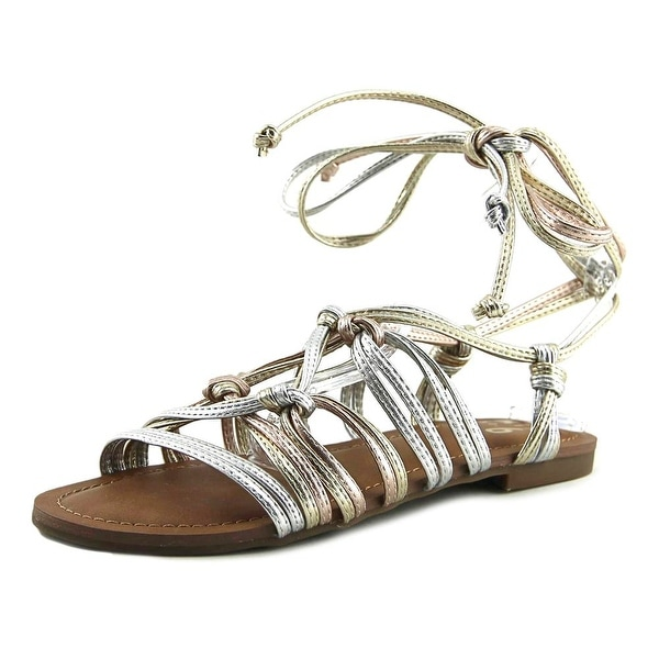 Mix No 6 Vayma Women Open Toe Synthetic Multi Color Gladiator Sandal