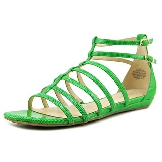 Nine West 7Abouthat Open Toe Synthetic Gladiator Sandal
