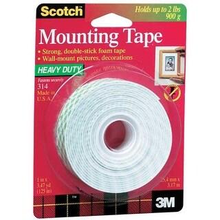 3M - 314 Heavy-Duty Foam Mounting - #314 Heavy-Duty Foam Mounting Tape