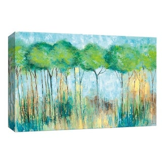 """PTM Images 9-148144  PTM Canvas Collection 8"""" x 10"""" - """"A Fair Day"""" Giclee Forests Art Print on Canvas"""