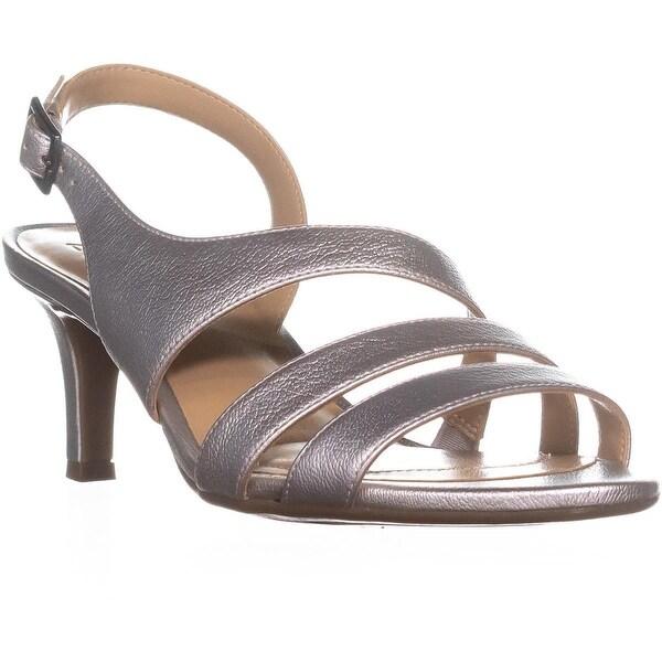 naturalizer Taimi Comfort Dress Sandals, Silver Metallic