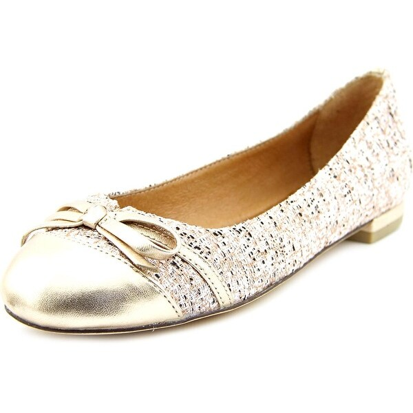 Nina Marybeth Round Toe Canvas Flats