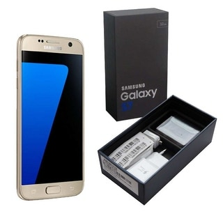 """Samsung Galaxy S7 32GB SM-G930A Unlocked GSM AT&T 4G LTE 5.1"""" Android Smartphone"""