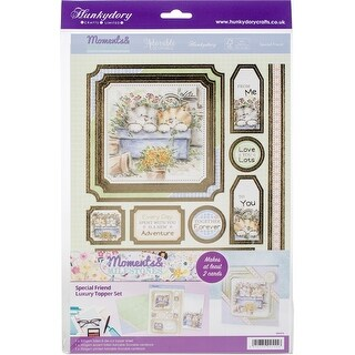 Hunkydory Moments & Milestones A4 Topper Set-Special Friend