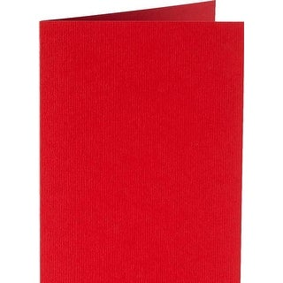 Red - Papicolor A6 Folded Cards 6/Pkg