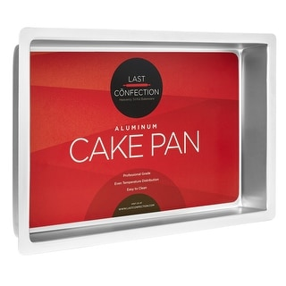 Rectangular Aluminum Cake Pans (Multiple Sizes) - Last Confection