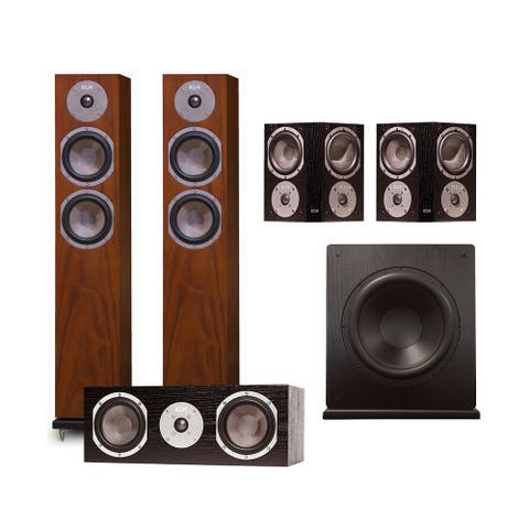 KLH Cambridge 5.1 Speaker System - Walnut