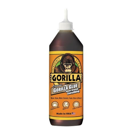 Gorilla Glue 5003601 Original Incredibly Strong Waterproof Adhesive, 36 Oz