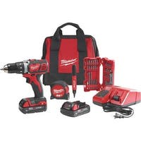 Milwaukee Elec.Tool M18 Cordless Drill Kit 2606-22CTP Unit: EACH