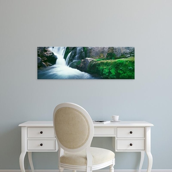 Easy Art Prints Panoramic Images's 'South Fork Cascade Canyon Trail, Grand Teton National Park, Wyoming' Canvas Art