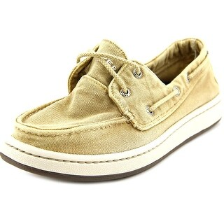 Sperry Top Sider Sperry Cup Moc Toe Canvas Boat Shoe
