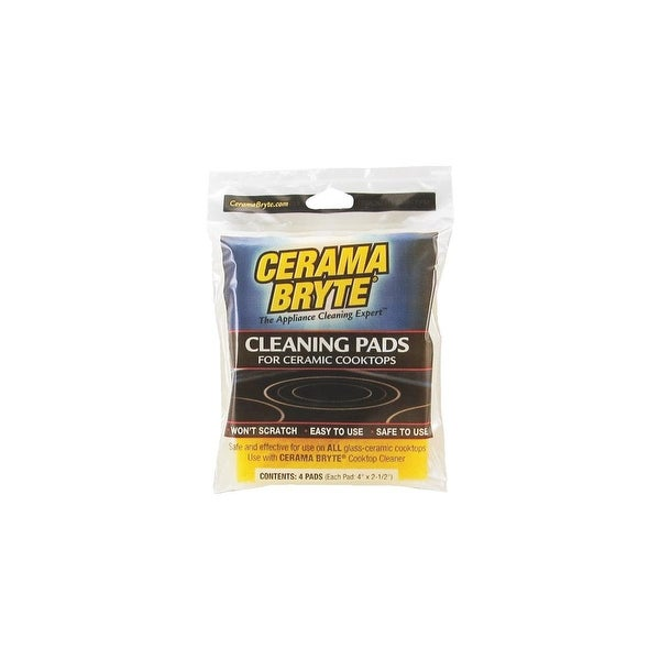 Cerama Bryte 4Pk Cooktop Cleanin Pads