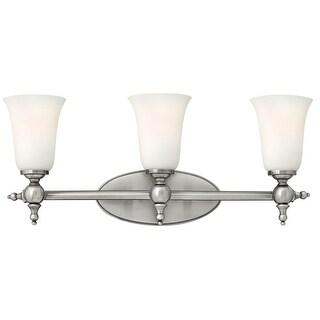 "Hinkley Lighting 5743 3 Light 23.75"" Width Bathroom Vanity Light from the Yorktown Collection"