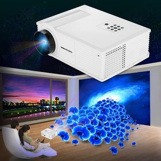 Multimedia 3200 LM HD LED Projector Home Theater ATV HDMI S-Video 720P 3D 2000:1