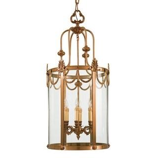 "Metropolitan N850906 6 Light 41"" Height Lantern Pendant from the Metropolitan Co - dore gold"