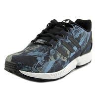 Adidas Zx Flux Boy Black/Black/White Athletic Shoes