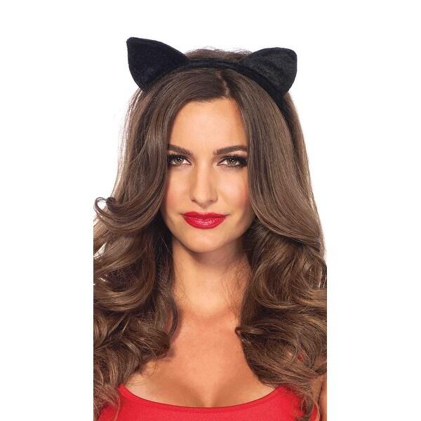 Shop Velvet Black Cat Ears 09ba4bcd1d5