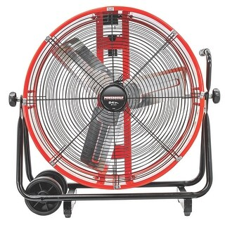 "Powerbuilt 24"" Direct Drive Air Circulator - 640898"
