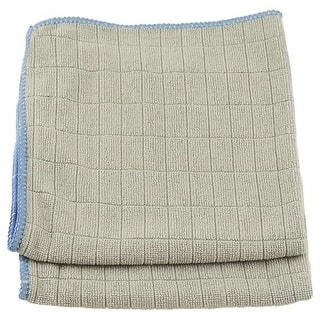"""Unger 966910 Mirror/Glass Wiping Cloths, 12"""" x 12"""", 2/Pack