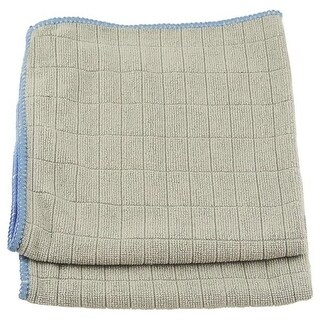 "Unger 966910 Mirror/Glass Wiping Cloths, 12"" x 12"", 2/Pack"