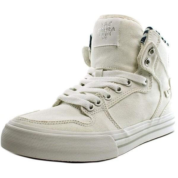 Supra Vaider Men Lt. Grey-White Skateboarding Shoes