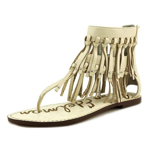 8529994daa50 Shop Sam Edelman Griffen Women Open Toe Leather Ivory Thong Sandal ...