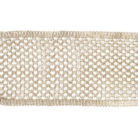"Pack of 6 Royal Elegance Metallic Gold Wired Decorative Craft Ribbon 2.5"" X 60 Yards"