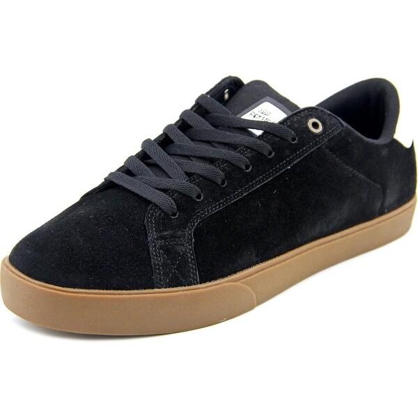 Emerica The Leo NS Men Round Toe Leather Black Skate Shoe