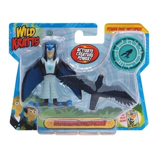 Wild Kratts Animal Power 2-Pack Figure Set: Peregrine Falcon Power