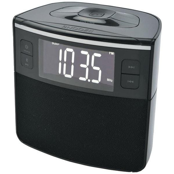 Sylvania Scr1986Bt-As Bluetooth(R) Clock Radio With Auto-Set Dual Alarm Clock & Usb Charging