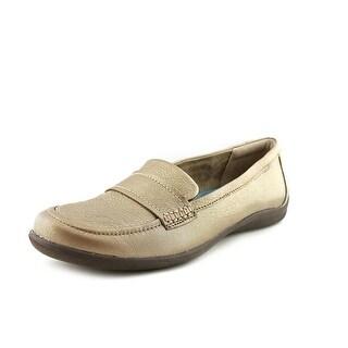 Naturalizer Denise Round Toe Leather Loafer