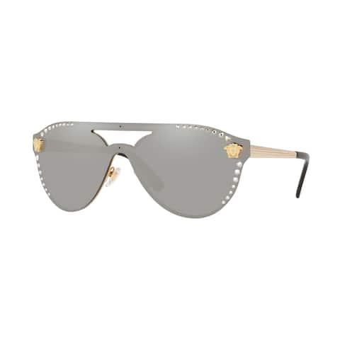 Versase VE2161B 10026G 42 Gold Woman Irregular Sunglasses