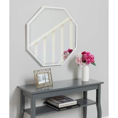 Rhodes Modern Octagon Wall Mirror