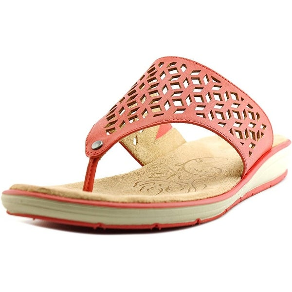 Naturalizer Ginny Women Coral Smooth Sandals