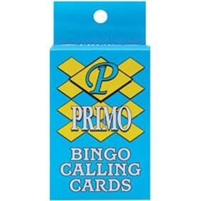 Bingo Calling Cards 75/Pkg-
