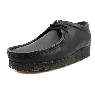 Clarks Originals Wallabee Men  Moc Toe Leather Black Chukka Boot