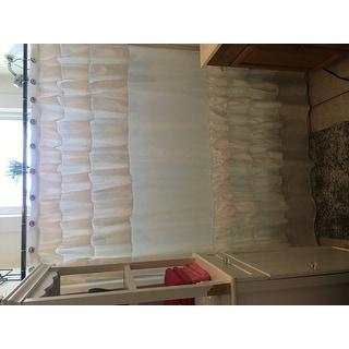 Copper Grove Elora Ruffled Shower Curtain