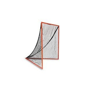 Champion Sports LNGL Official Size Backyard Lacrosse Goal (Orange, 6' x 6')