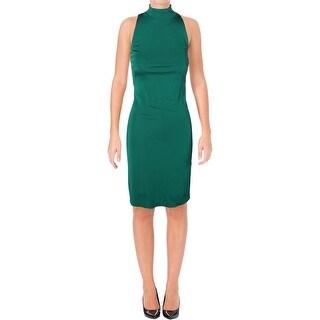 Lauren Ralph Lauren Womens Wear to Work Dress Mock Neck Sleeveless