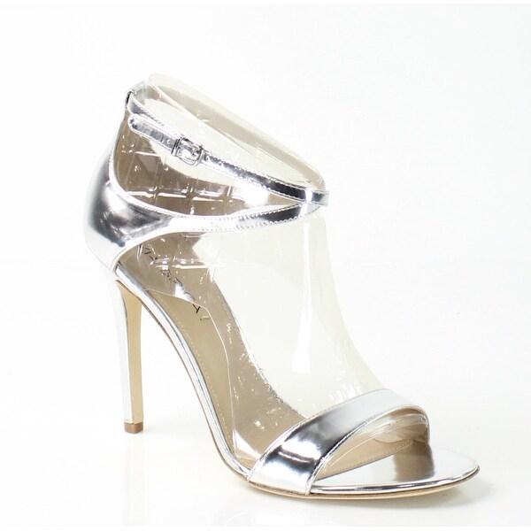 68509abdce1 Shop Via Spiga NEW Silver Tiara Shoes 8.5M Ankle Strap Leather ...