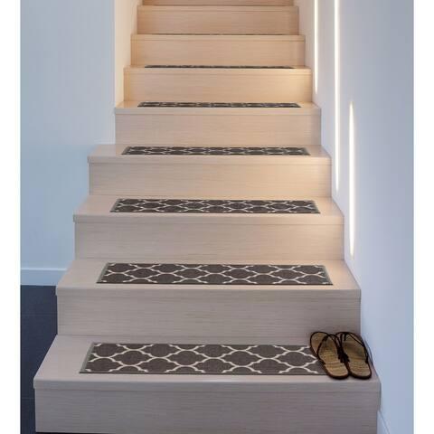 Contemporary Modern Moroccan Non-Slip Stair Treads