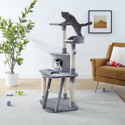 "Chachi 49"" Gray Cat Tree"