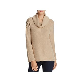 Calvin Klein Womens Pullover Sweater Chunky-knit Bell Sleeves