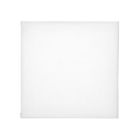 Sax Genuine Canvas Panel, 6 x 6 Inches, White
