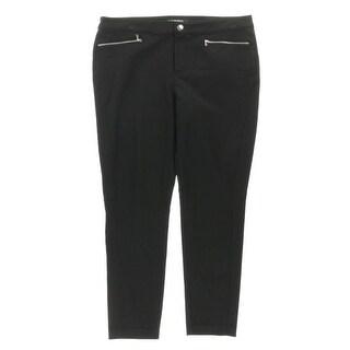 Lauren Ralph Lauren Womens Dress Pants Horizontal Zip Seamed