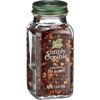 Simply Organic - Crushed Hot Red Pepper ( 2 - 1.59 OZ)